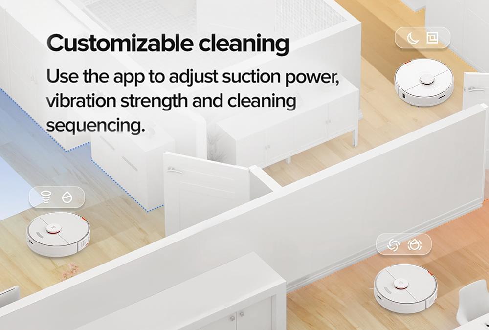 Xiaomi Mi Robotski sesalnik Roborock S7