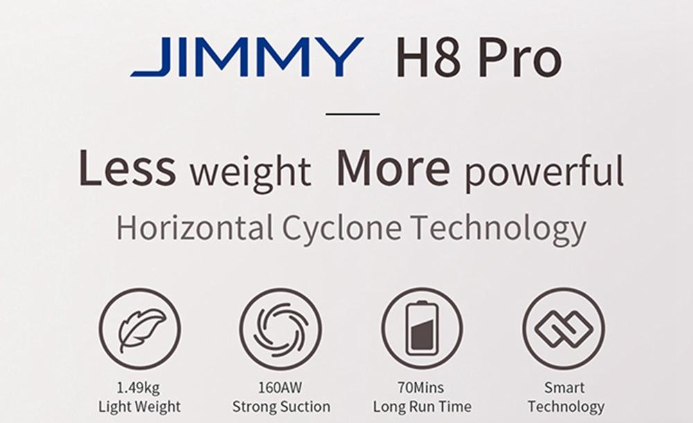 Original baterija za JIMMY H8 Pro
