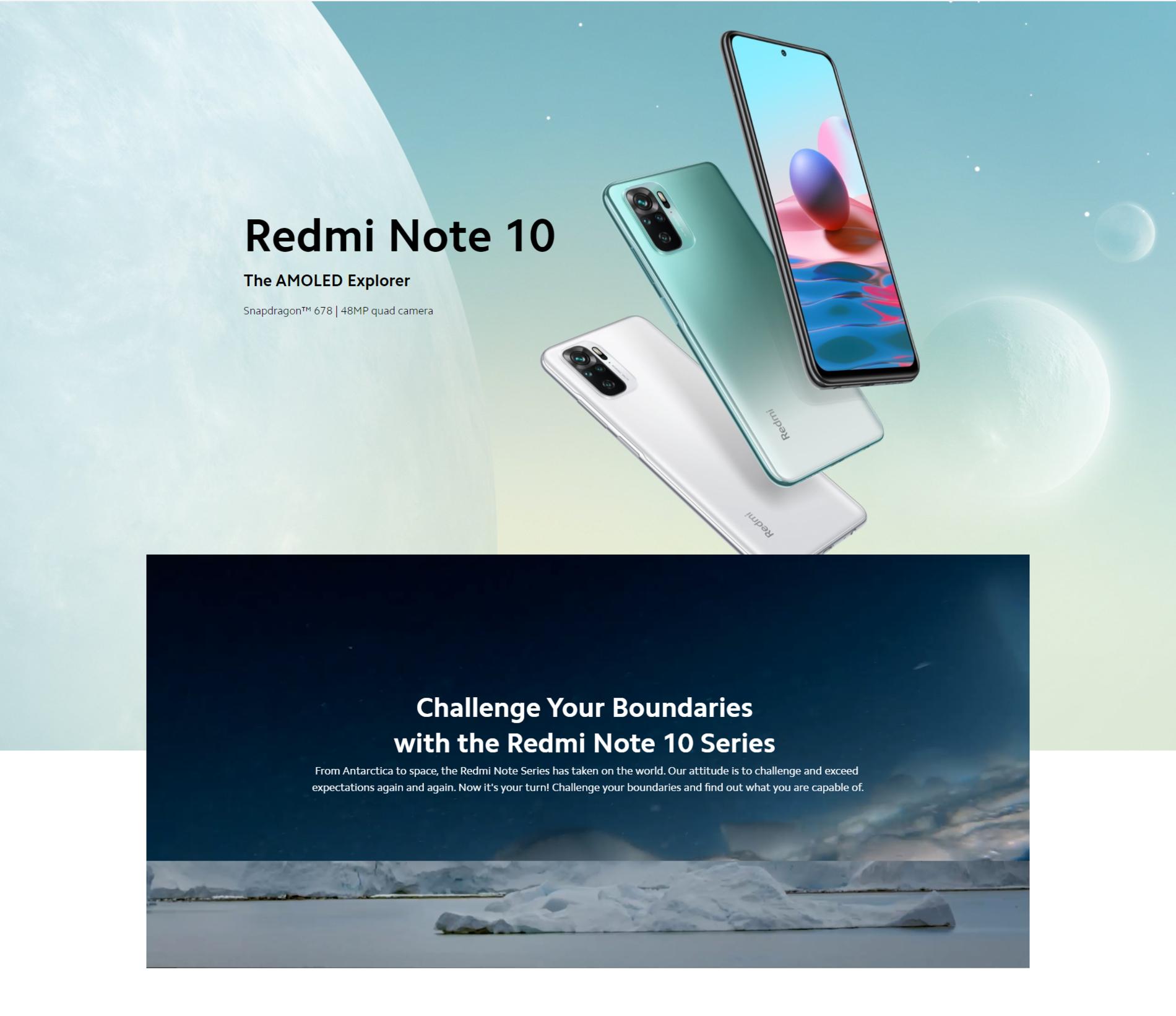 Redmi Note 10 - Specifikacije