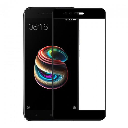 Zaščitno steklo za Xiaomi Mi A1 Črn