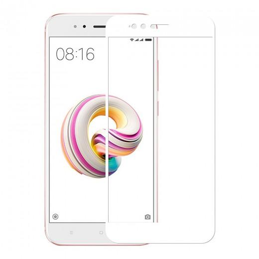 Zaščitno steklo za Xiaomi Mi A1 Bel