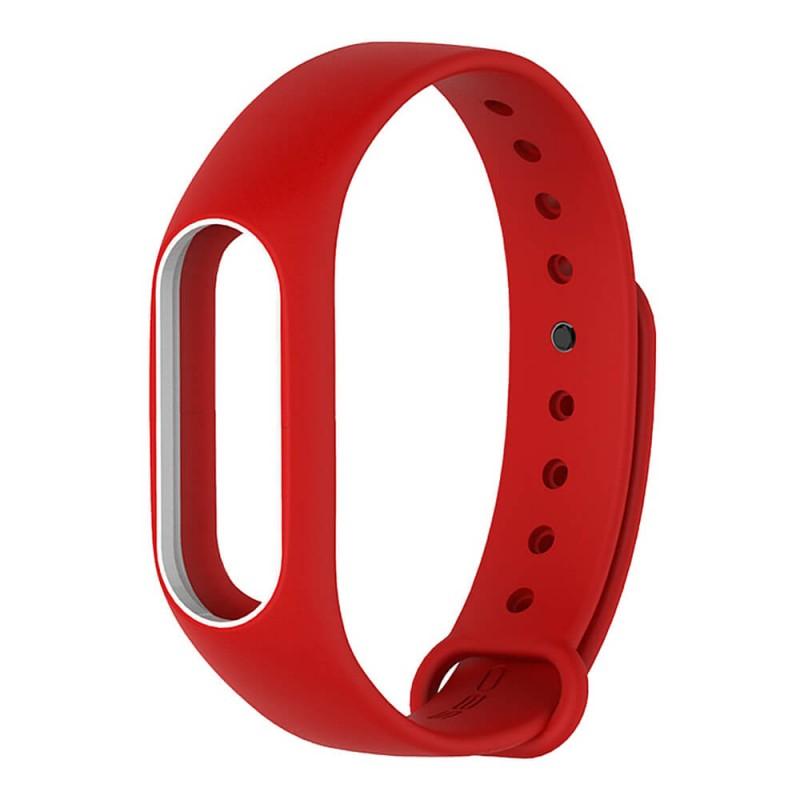 Pašček za Xiaomi Mi Band 2 Rdeč