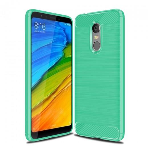 Silikonski ovitek / etui za Xiaomi Redmi 5 Plus Zelen