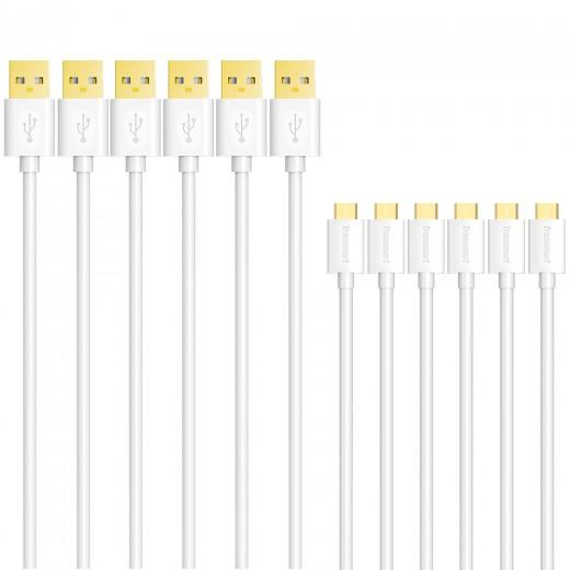 Tronsmart Micro USB kabli 6 Beli