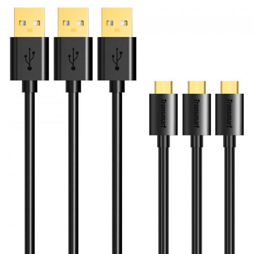 Tronsmart Micro USB v USB Kabel 1.8m x3kos