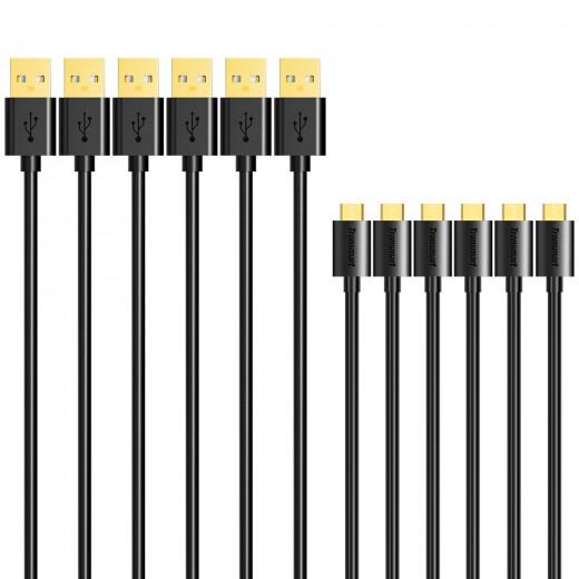 Tronsmart Micro USB kabli 6xkos