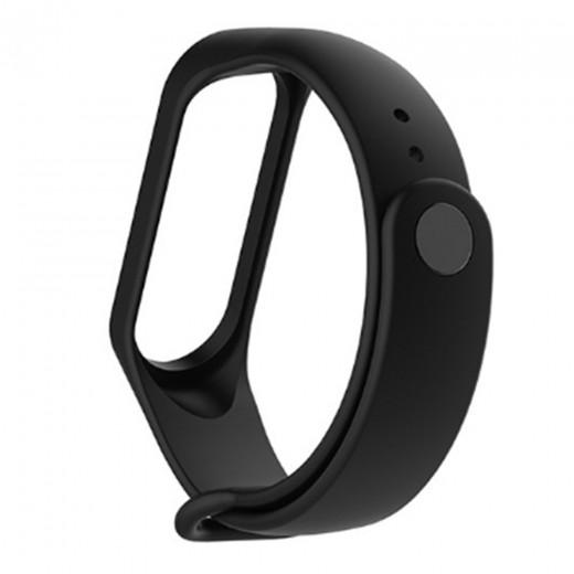 Pašček za Xiaomi Mi Band 3 / 4 Črn