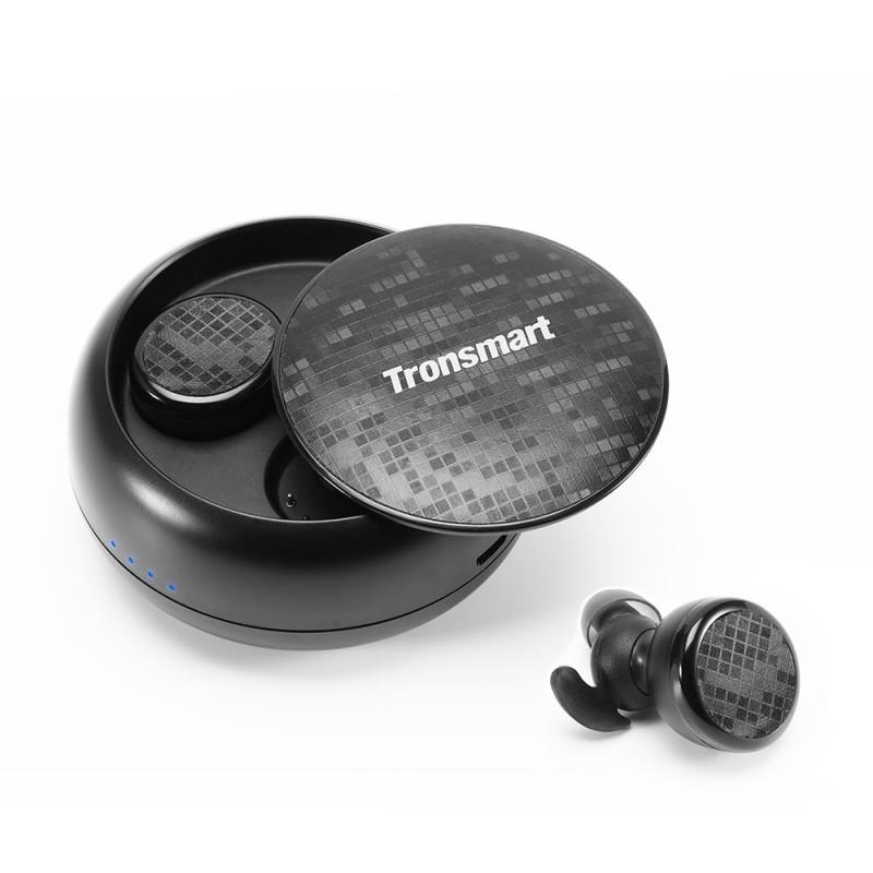 Tronsmart Brezžične Slušalke - črne