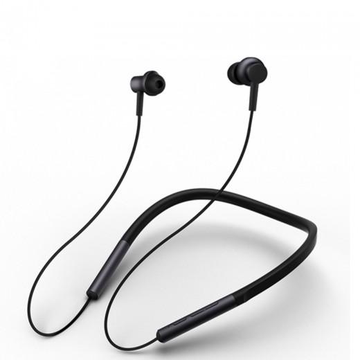 Xiaomi Bluetooth Vratne Športne Slušalke Črne