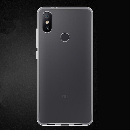 TPU ovitek za Xiaomi Mi A2 Prozoren