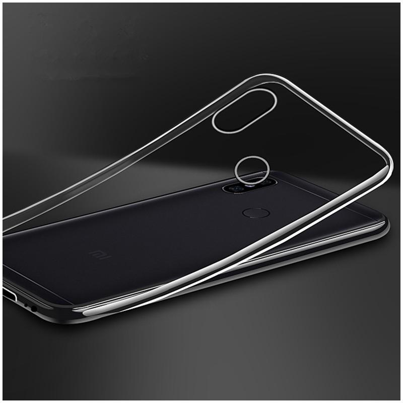 TPU ovitek za Xiaomi Mi A2 Lite Prozoren