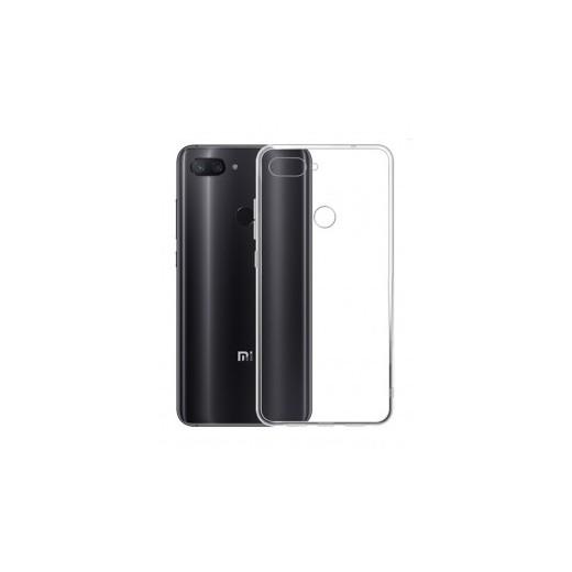 TPU ovitek za Xiaomi Mi 8 Lite Prozoren