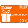 Darilni bon v vrednosti 20€