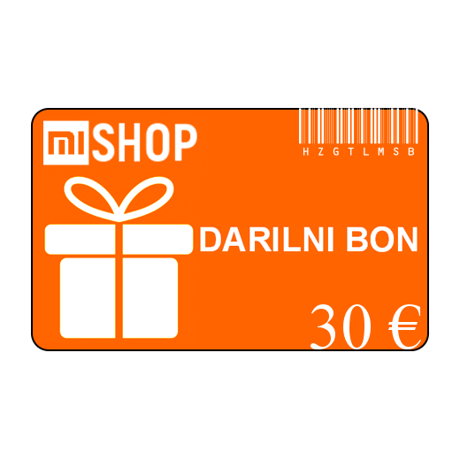 Darilni bon v vrednosti 30€