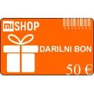 Darilni bon v vrednosti 50€