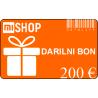 Darilni bon v vrednosti 200€
