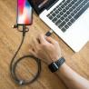 Tronsmart 3-v-1 Tip-C z Micro USB 1,2m
