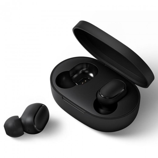 Xiaomi Redmi AirDots Wireless Bluetooth Earphones with Charging Box Portable Handsfree Earbuds - Black