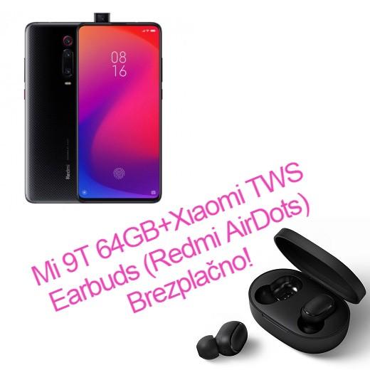 Xiaomi Mi 9T 6/64GB + Redmi AirDots Brezplačno