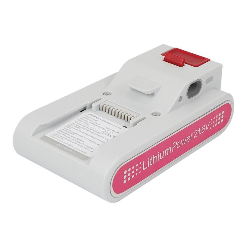 Original baterija za sesalec JIMMY JV53 - Bela