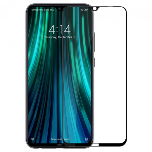 Zaščitno steklo NILLKIN za Xiaomi Redmi Note 8 Črn rob