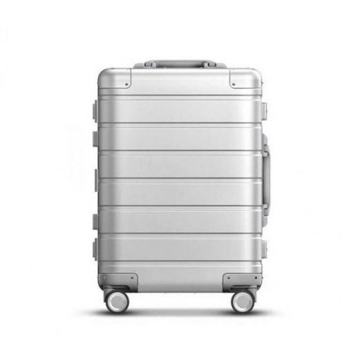 Xiaomi Mi Luggage 20 Aluminijast (pametni?)Potovalni Kovček - Srebrn