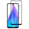 Zaščitno steklo za Xiaomi Redmi Note 8T Črn rob