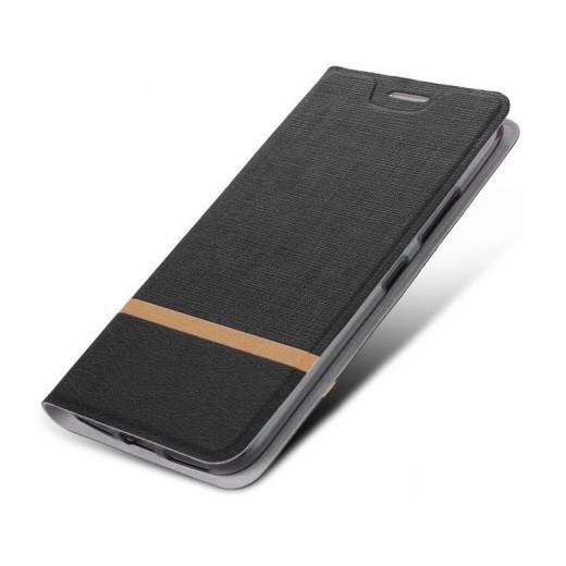 Preklopni ovitek za Xiaomi Mi Note 10 Črn