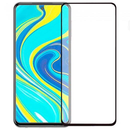 Zaščitno steklo za Xiaomi Mi Note 10 Črn rob