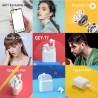 Xiaomi QCY T7 Brezžične Slušalke - Bele