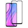 Zaščitno steklo za Xiaomi Redmi 9 Črn rob