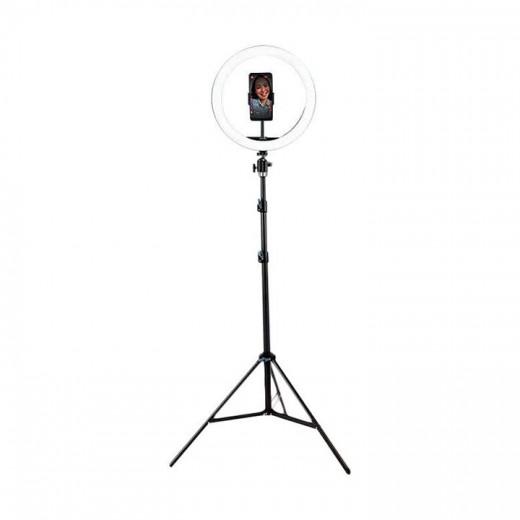 """Vidlok Selfie Ring Light 12"""" - LED svetilka s stojalom"""