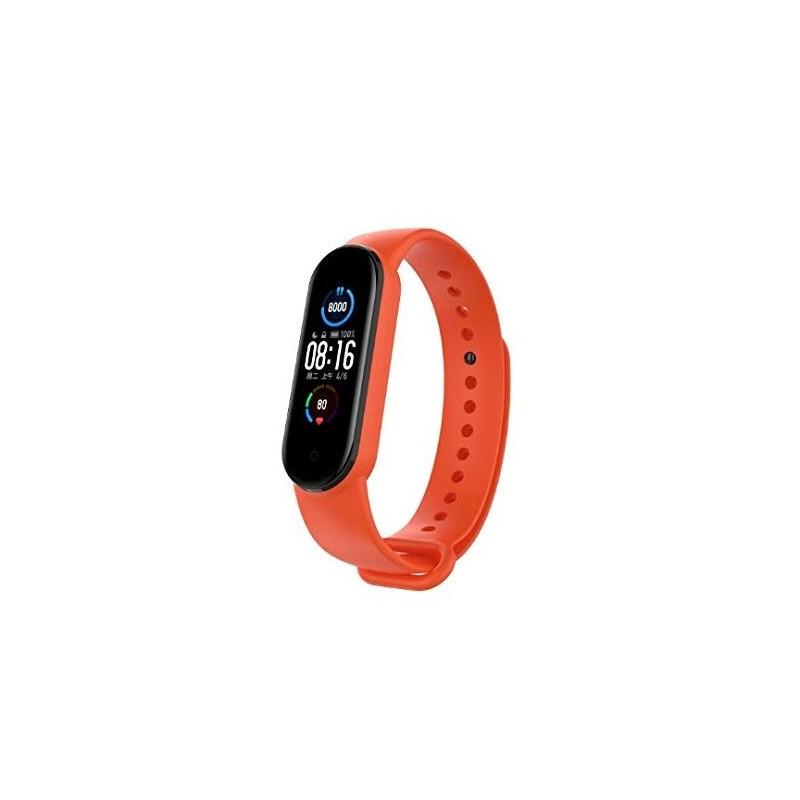 Pašček za Xiaomi Mi Band 5 / 6 - Oranžna