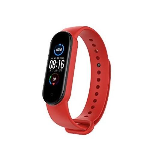Pašček za Xiaomi Mi Band 5 / 6 - Rdeča