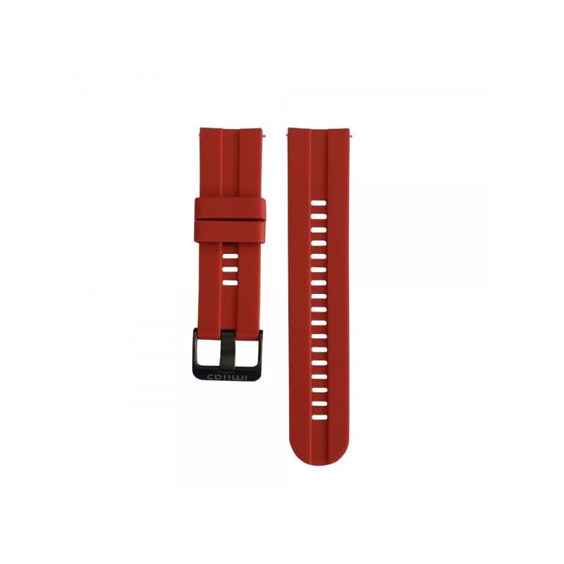 Pašček za Xiaomi IMILAB W12 - Rdeč