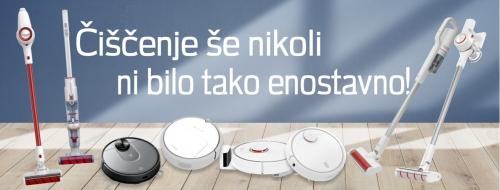 Brezžičnimi pokončnimi in robotskimi sesalniki za poenostavljeno čiščenje prostorov