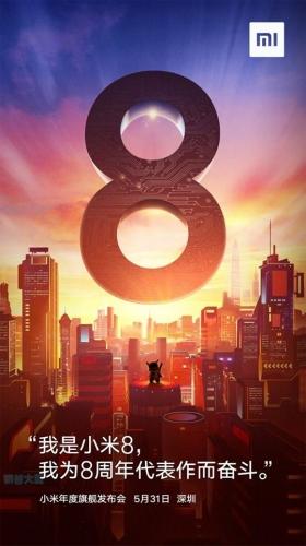 Xiaomi predstavil Mi8 in njegove edicije :)